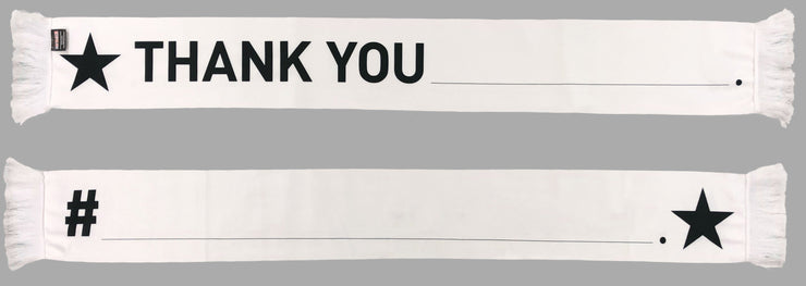 HERO WRITABLE SCARF - Thank You (Summer Scarf)