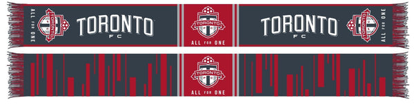 TORONTO FC SCARF - Audio - Ruffneck Scarves