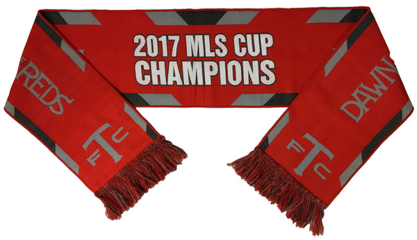 TORONTO FC SCARF - 2017 MLS Cup Champions Waves (HD Woven) **SALE**