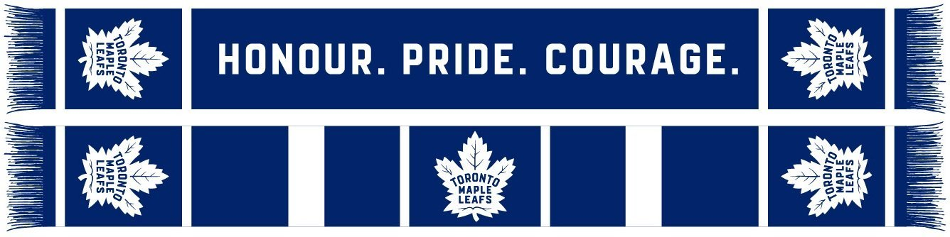 TORONTO MAPLE LEAFS SCARF - Home Jersey