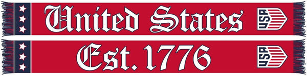 US SOCCER SCARF - 1776