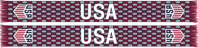 US SOCCER SCARF - Crest (HD Knit)