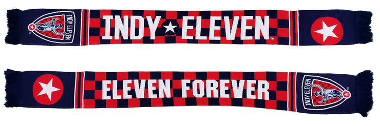 Indy Eleven Scarf - 2020 Checkered (HD Knit)