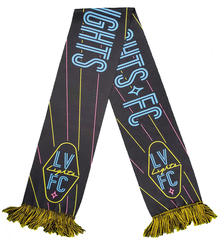 Ruffneck Scarves Official US Soccer Scarf Blackout Scarf