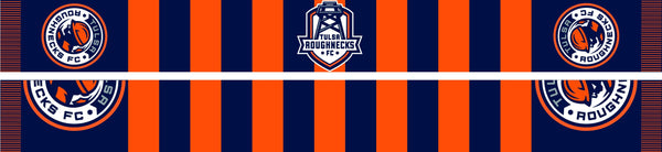 Tulsa Roughnecks FC Scarf - Bar