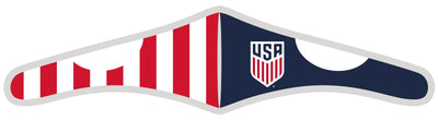 USMNT velcro face mask with flag design
