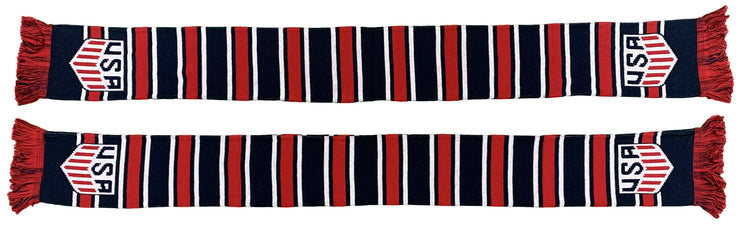 US SOCCER SCARF - Multi-Bar
