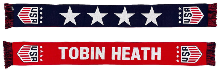 Tobin Heath USWNT 4 Star Scarf