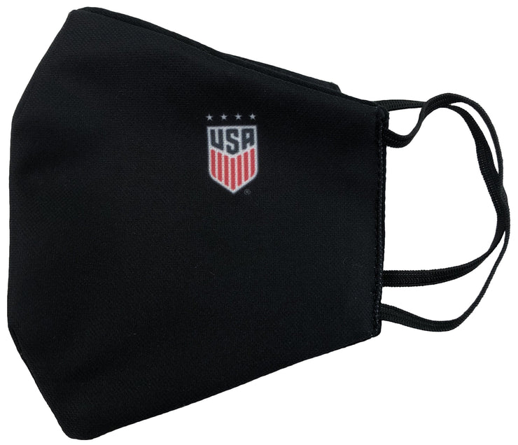 USWNT Water resistant face mask right side