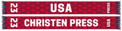 USWNTPA- CHRISTEN PRESS #23 SCARF