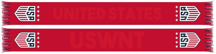 USWNT SCARF - Monochrome Red