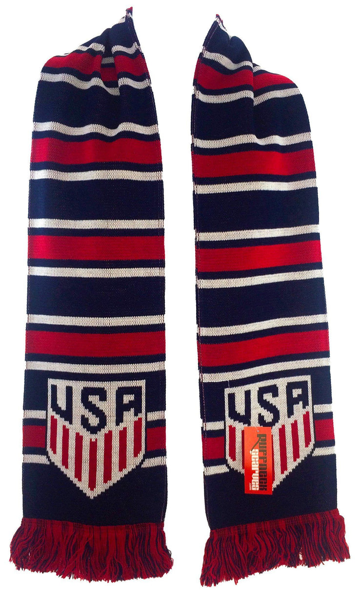 US SOCCER SCARF - Multi-Bar - Ruffneck Scarves - 2
