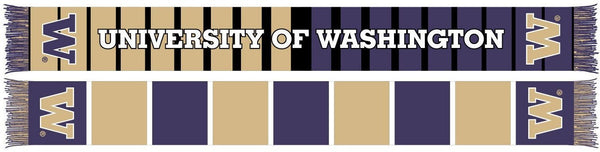 UW HUSKIES SCARF - Split Bar - Ruffneck Scarves - 1