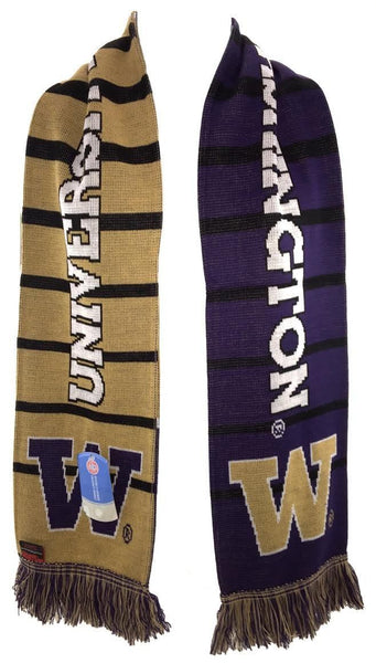 UW HUSKIES SCARF - Split Bar - Ruffneck Scarves - 2