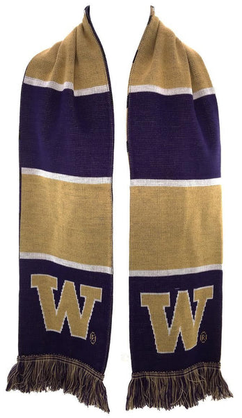 UW HUSKIES SCARF - Split Bar - Ruffneck Scarves - 3