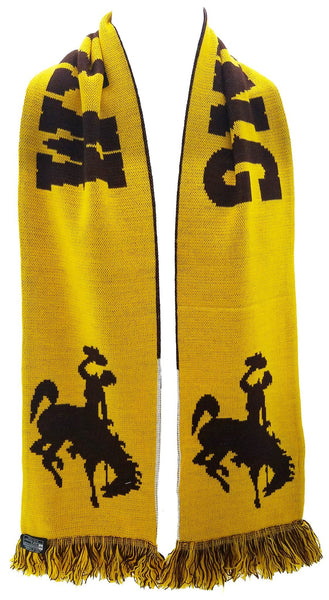 WYOMING COWBOYS SCARF