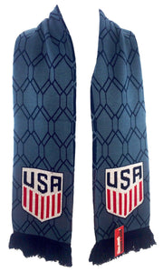 US SOCCER SCARF - Blue Hex - Ruffneck Scarves - 2