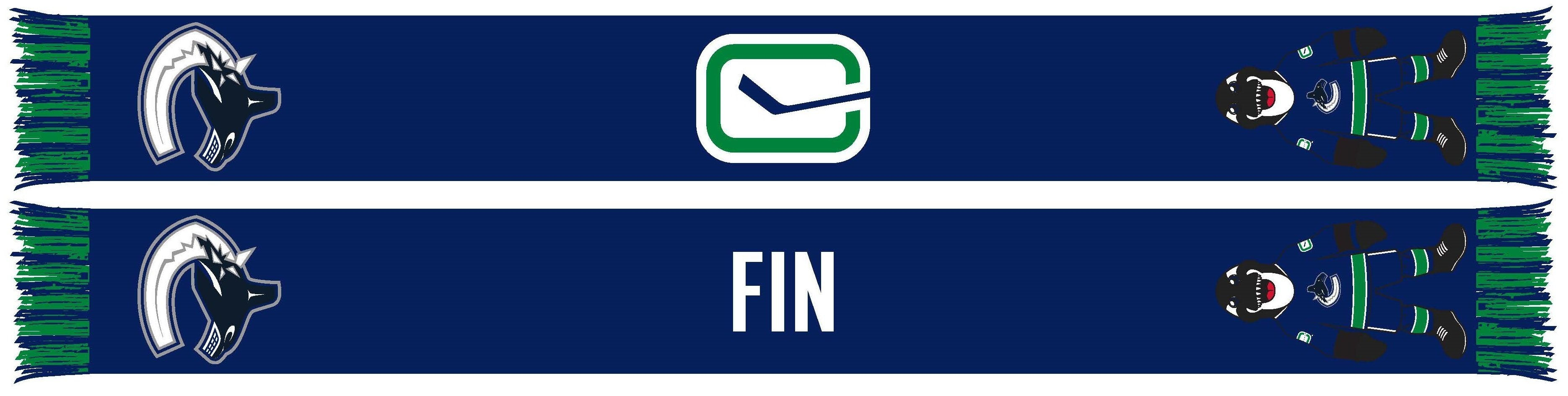 VANCOUVER CANUCKS - Mascot - Fin (Summer Scarf)