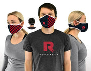 Velcro wrap face masks from different angles
