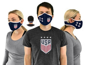 USWNT face mask from multiple angles