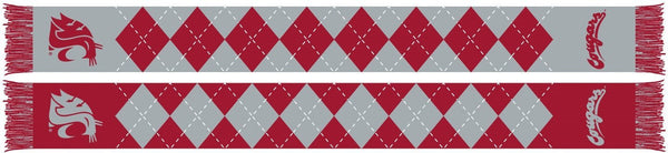 WSU COUGARS SCARF - Argyle - Ruffneck Scarves - 1