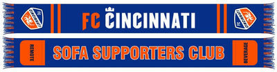 FC CINCINNATI SCARF - Sofa Supporters Club (Pocket Scarf)