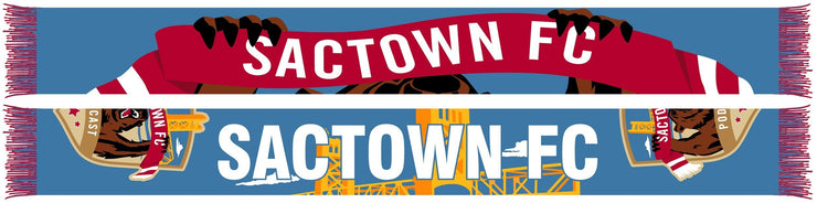 SACTOWN FC PODCAST SCARF (Summer Scarf) (Pre-Order)