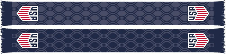 US SOCCER SCARF - Blue Hex - Ruffneck Scarves - 1
