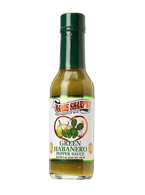 Marie Sharp's Green Habanero Pepper Hot Sauce