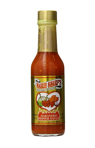 Marie Sharp's Fiery Hot Habanero Pepper Hot Sauce
