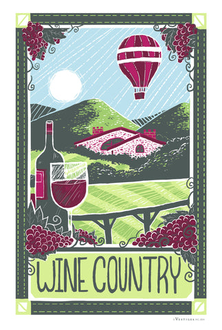 Wine Country Towel
