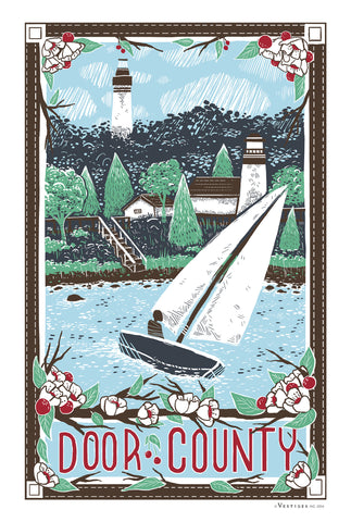 Door County Region KitchenTowel
