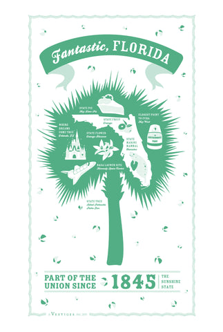 Florida State Kitchen Towel