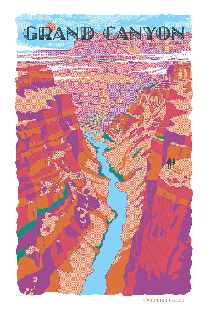 Grand Canyon Region Kitchen Towel