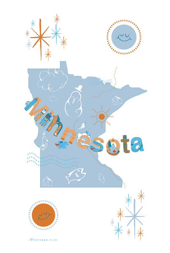 Minnesota Icon Kitchen Towel