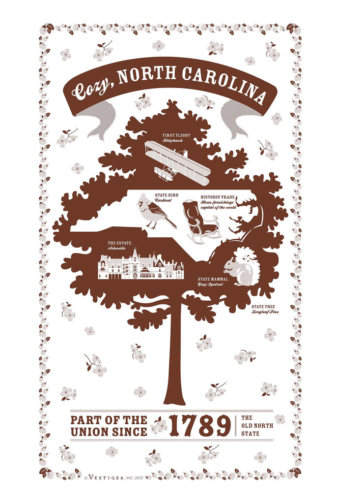 North Carolina State Kitchen Towel
