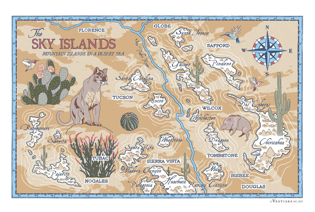 Sky Islands Region Towel