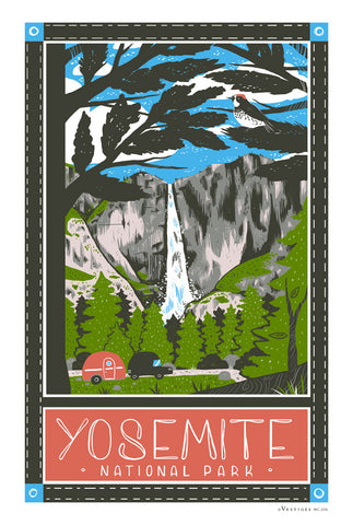 Yosemite Region Kitchen Towel