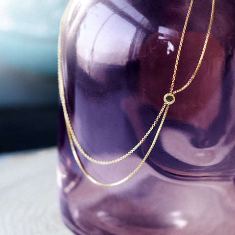 Draped Necklace - Gold