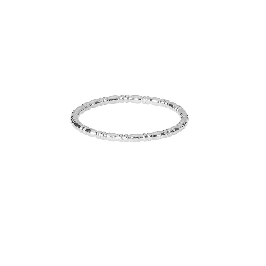 Equine Single Band ring in silver.