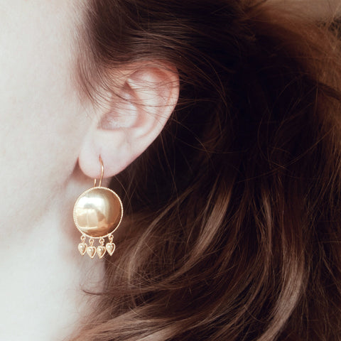 Frida Earrings - Gold