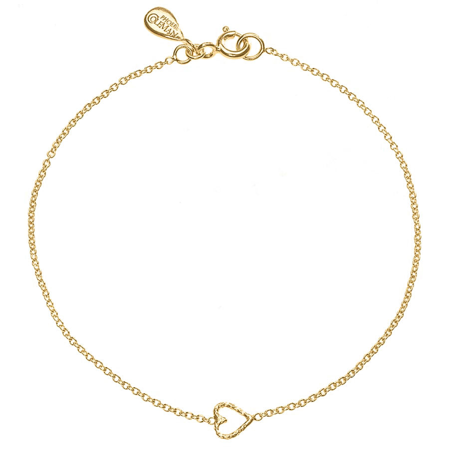 Love Me Tender Heart Bracelet - Gold