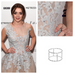 Maisie Williams wearing the Double Protective Circle ring in silver.
