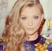 Natalie Dormer wearing the Warrior Ear Cuff and Feather Stud earrings in gold.