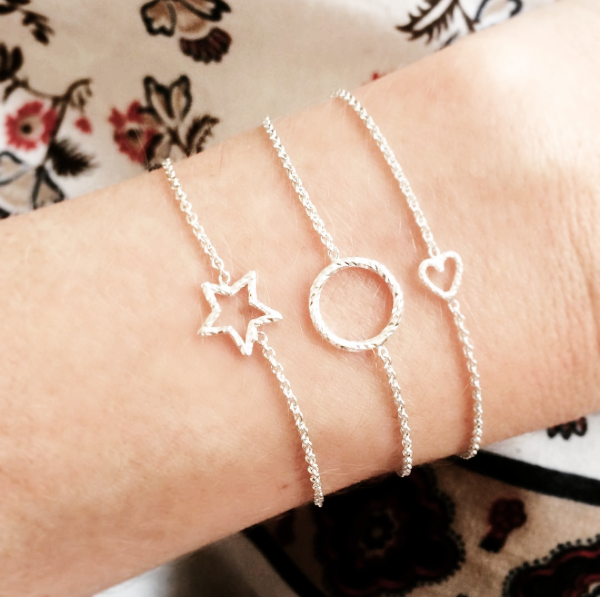 Love Me Tender Heart Bracelet - Rose Gold