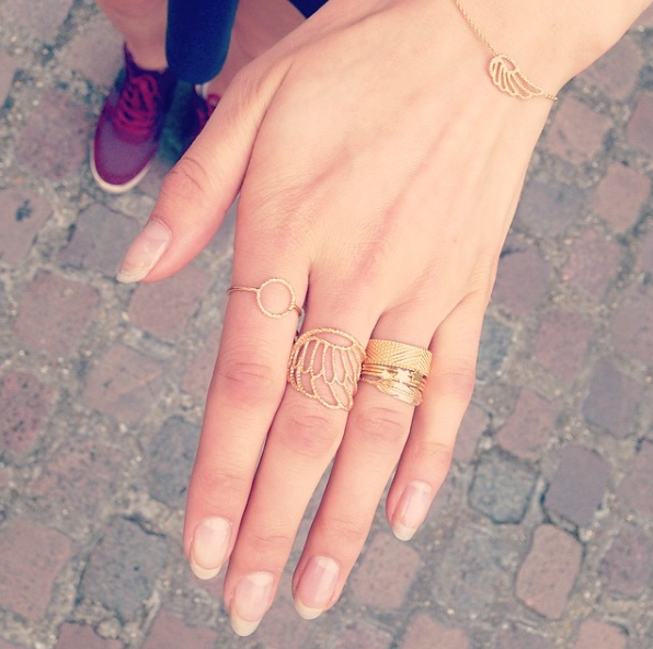 Star Stacking Rings - Gold