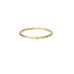 Baby White Diamond Ring - Gold