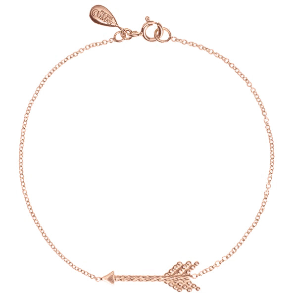 Warrior Arrow Bracelet - Rose Gold