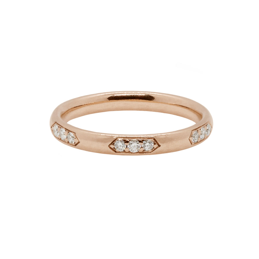 Diamond Celeste Wedding Band