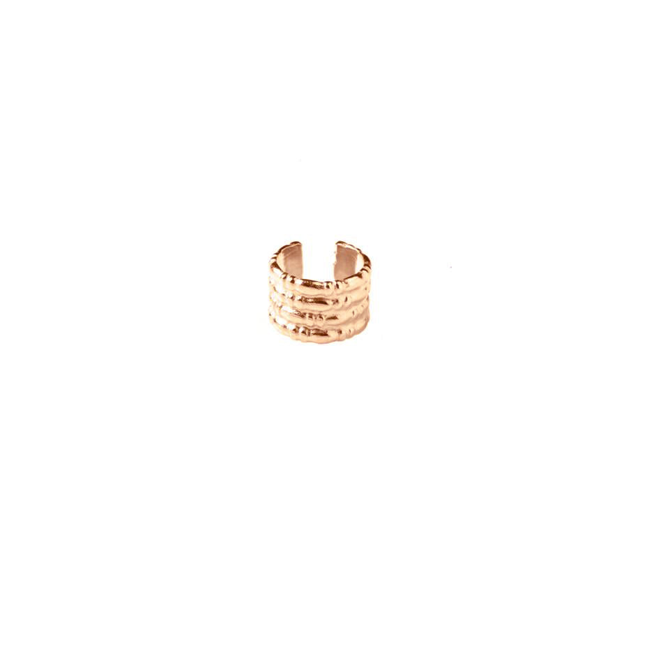 Equine Ear Cuff - Rose Gold